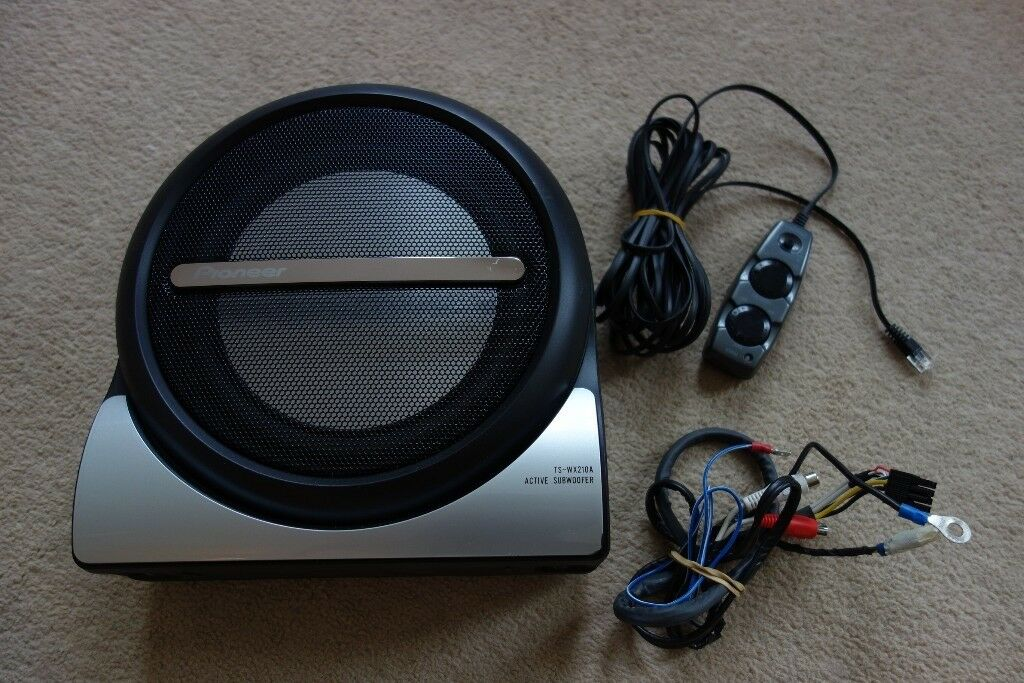 pioneer ts wx 210a active subwoofer underseat with remote in queens park glasgow gumtree. Black Bedroom Furniture Sets. Home Design Ideas