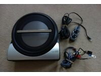 Pioneer TS-WX 210A active subwoofer underseat with remote