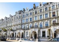 Redcliffe Square SW10. A large two double raised ground floor Victorian conversion flat to rent