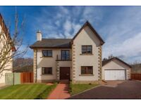 5 bedroom detached house with beautiful commute drive to Edinburgh & garden (furniture negotiable)