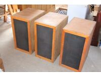 3 large loud speakers from redundant digital organ.