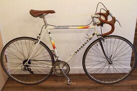 Vintage Peugeot Triathlon Road bike, 20,5inch small lightweight Reynolds 501 frame & forks,VGC