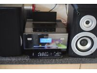 BUSH DAB RADIO/USB/CD/IOPD DOCK/AUX IN/REMOTE CAN BE SEEN WORKING