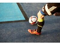 Spaces available for 5-a-side football teams in Clapham