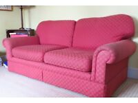Very comfortable M&S large sofa