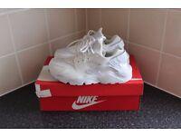 Nike Air Huarache All White - UK Size 6 - NEW