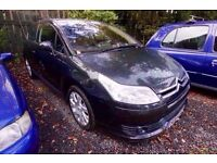 2005 CITROEN C4 BLACK EDITION 1.6 16V 1 Year MOT LOW MILES FOR YEAR