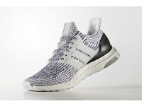 Adidas Mens Ultra Boost Oreo White/Core Black 10.5 UK