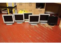 6 Generic Flast Screen Display Monitors