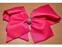 50 Pack of Large Bows - Mixed Colours with Diamonte - SUPER BARGAIN!