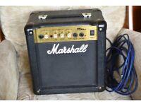 Marshall MG 10CD Practice amplifier