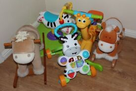 VARIOUS PLAY AND LEARN TOYS