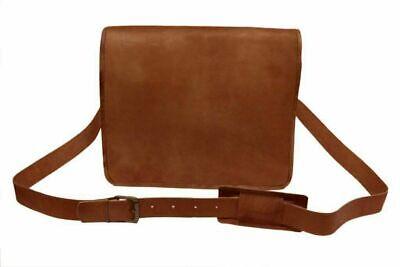 Men's Leather messenger shoulder bag vintage briefcase laptop bags Best