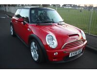Mini Cooper S **74k miles** 2006, Service history, long MOT, Xenons, Black leather
