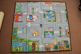ELC Big City Foldable Playmat + Lego City Felt Fire Engine Mat