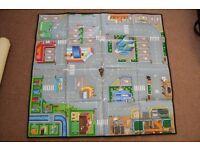 ELC Big City Foldable Playmat + Lego City Felt Fire Engine Mat