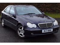 Mercedes C220 CDi Avantgarde. Manual. Cheap Car. Not Audi, BMW, Volvo, Lexus.