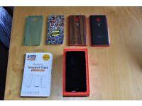 Oneplus 3 Graphite + 2 original cases