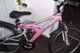 Trax Ladies / Girls Mountain Bike