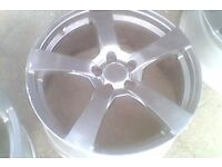 "Transit connect 18"" alloys ford , 5x108"