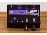 ART MyMONITOR Mini Personal Headphone Monitor Mixer
