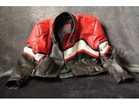 Ladies motorcycle two piece leathers