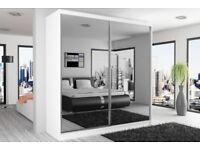 BRAND NEW STYLISH BEDROOM SLIDING CHICAGO WARDROBE- SAME\NEXT DAY DELIVERY DELIVERY