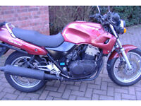 Honda CB500 motorcycle