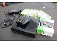 X Box 360 plus games 250 Mb hard Drive.