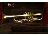 Bach Stradivarius Bb Trumpet