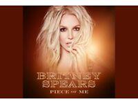 Britney Spears Manchester Arena ticket!