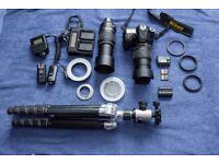 Nikon D7200 DSLR Complete outfit