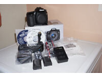 Canon 70D + Body + Extras or swap