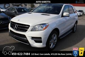 2013 Mercedes-Benz M-Class ML350 BT AWD, NAVI, PANORAMIC, CAMERA