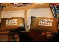 New 2 x Nimbus Emporium Luxurious pillow protectors