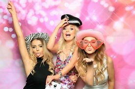 Photobooth & Magic Selfie Mirror For Hire from £140 with unlimited prints.