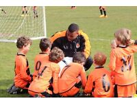 Weekend and Half Term Camp Football Coach