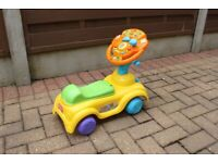 VTECH SIT AND DISCOVER RIDE ON. EXCELLENT CONDITION.