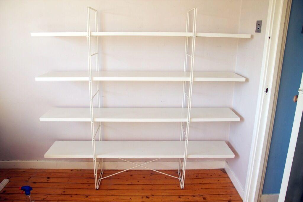 IKEA Enetri Shelves White