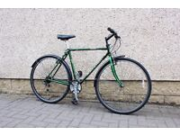 bike hybrid ,Raleigh pioneer,vintage .retro only £135 city centre polwarth