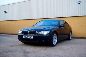 BMW 7 Series 750i 2007 57 Executive Saloon 5.0L Petrol *Heated Leather Seats* *Sat Nav* *Pan Roof*