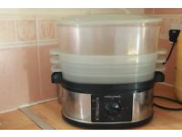 Morphy Richards 3 tier food steamer