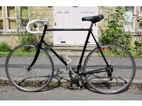 "Falcon, vintage men's racer road bike, 23"" frame, 12 speed"
