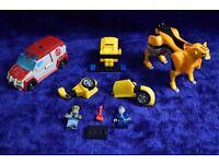 Bundle of Hasbro 2007 Transformer & Lego Toys