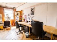 11 desks available now from £170.00 per desk per month