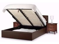 Dual Sidded White And Super Orthopedic New Faux Leather Ottoman Storage Bed Frame With Head Board