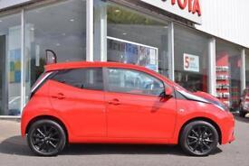 Toyota Aygo VVT-I X-STYLE (red) 2017-05-31
