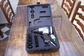 """PNEUMATIC IMPACT WRENCH, AND 3/8"""" AIR DRILL"""