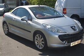 (NEW Clutch & Gearbox ... NEW MOT/Just Serviced) Peugeot 207 CC 1.6 Coupe GT Sport Convertible)