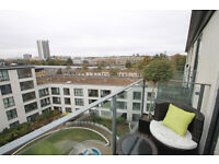 Luxury Penthouse 1 Bed Apartment With Private Balcony amazing views 24hr Conceirge Gym Kings Cross